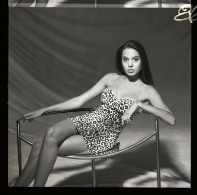 Richard Avedon - Angelina Jolie (15 years old)