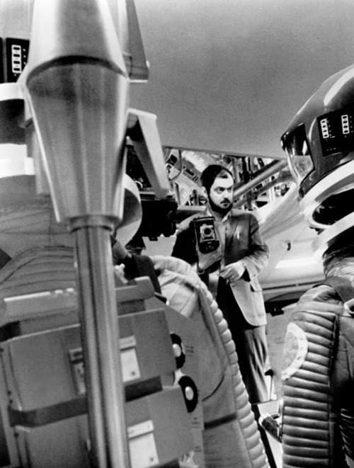 "Stanley Kubrick making ""2001: A Space Odyssey"""