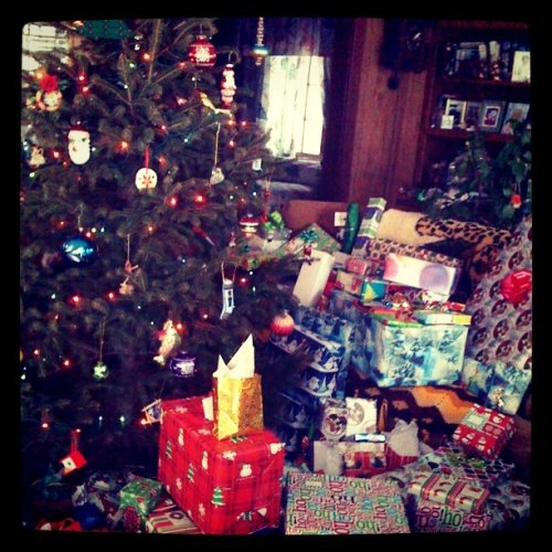 Merry Christmas from Gramma's house. (Taken with instagram)