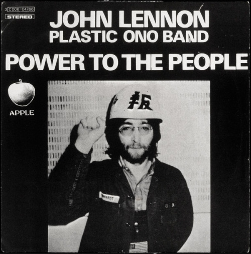 Album Cover: John Lennon. Power to the People. 1971