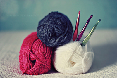 Crocheting is addicting. I love it :)  cajunmama:  Create (EXPLORED) (by ::SarahBeth Photography::)