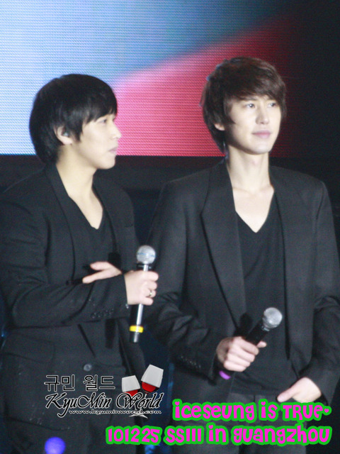 SS3 Guangzhou - KYUMIN cr : as tagged