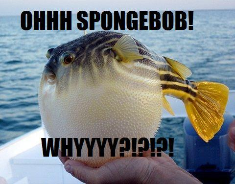 Spongebob Characters in Real Life - Mrs. Puff