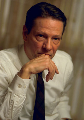 "For some reason I always forget that Chris Cooper is in The Bourne Identity so I start the movie off all ""Damn Matt Damon look at your fine self"" and then CC shows up and I'm like ""HOLY CRAP I would marry the FACE off that man.""  Love U Chris Cooper!  (I know this picture isn't from TBI but I Google Image Searched and it came up and I like it so there.)"