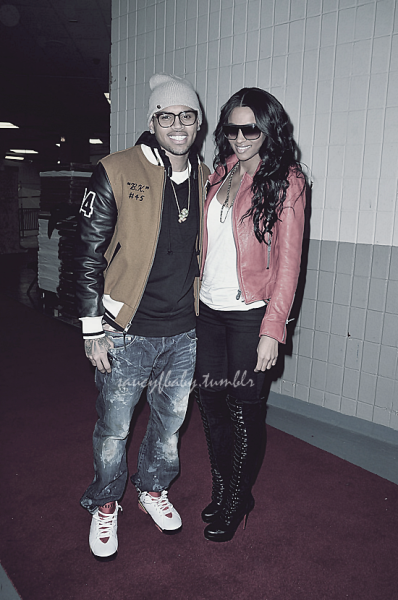 Chris Brown & Ciara (VIA)