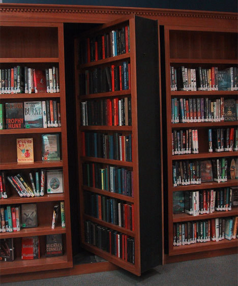 therandomlife:  I have wanted a bookshelf/hidden door all of my life.