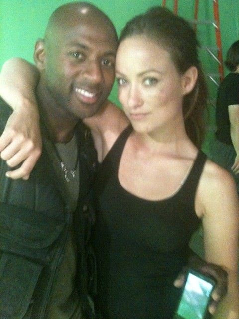 Olivia Wilde is the only woman that can come between me and my Droid.