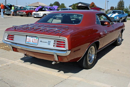 Hop in Starring: '70 Plymouth Barracuda Gran Coupe (by Randy von Liski)