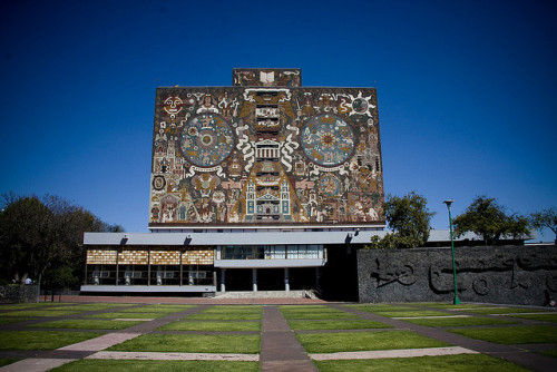 UNAM Library - Central University City Campue - Mexico