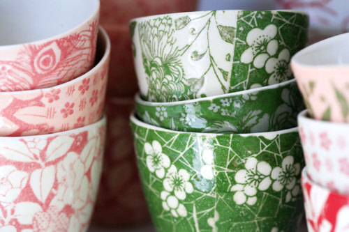 I want these teacups by samantha robinson (via samantha r.)