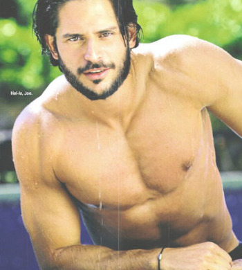 Joe Manganiello Gets Shirtless For Cosmo Calendar - Socialite Life
