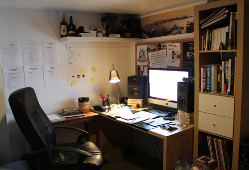My tiny studio, the birth place of almost everything you'll see on this blog!