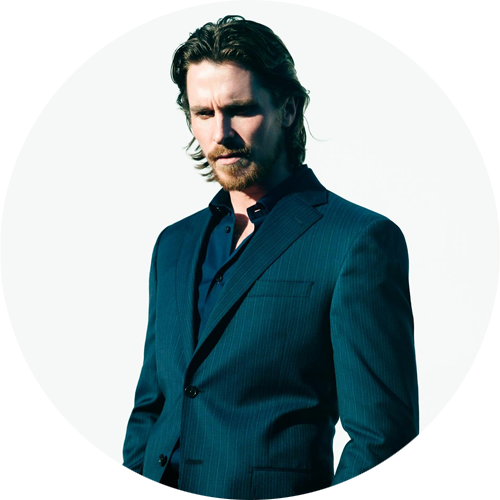 Christian Bale by Nathaniel Goldberg