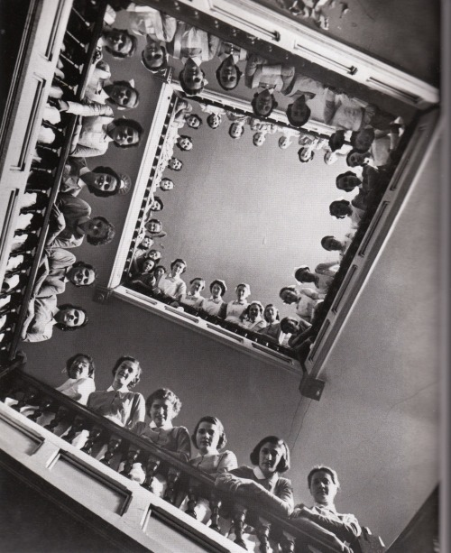 lllllife:  Nurses at Roosevelt Hospital, 1938, by Alfred Elsenstaedt