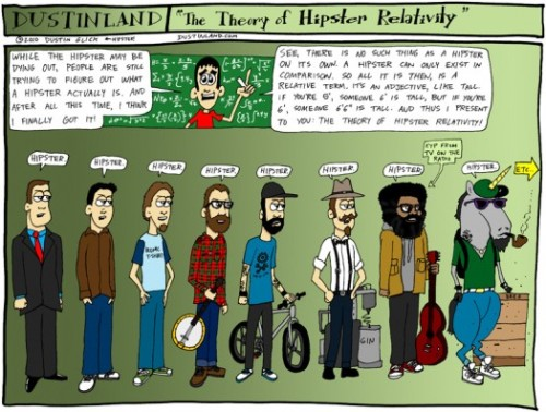 "WHAT MAKES A HIPSTER?   ""The Theory of Hipster Relativity"""