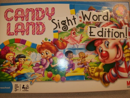 Candyland Sight Word Edition  from First Grader At Last