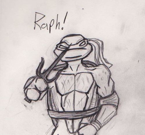 Got bored and drew some Raph.  Have some Raph.