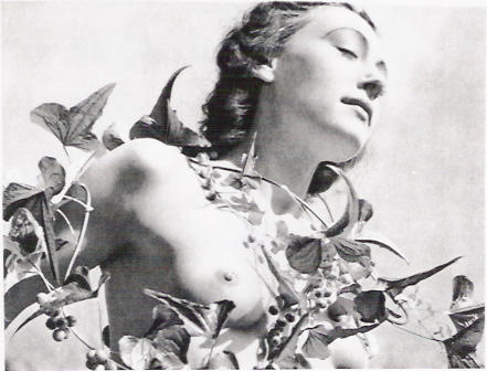 Nusch Eluard,1937 by Dora Maar from Muse and Artist, few more here