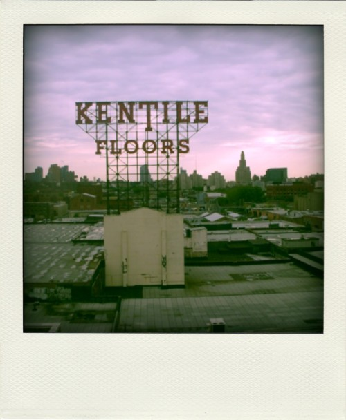 Kentile Floors, Brooklyn NYC If you are ever on the F or G line heading toward the city, you can't miss this staple.