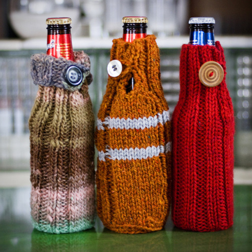 missviciouslovestoknit:  Beer Sweaters (by Tracy)