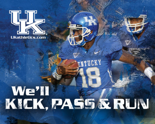 secfootball:  Kentucky Football Wallpaper featuring Randall Cobb