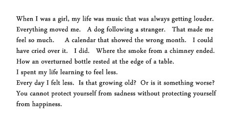 sofaloveseat:  —Jonathan Safran Foer  This is my life.