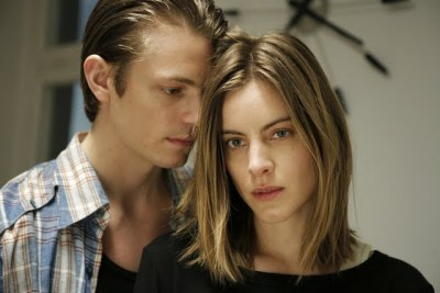 Joel Kinnaman and Malin Crepin. From the movie I skuggan av värmen (In Your Veins).