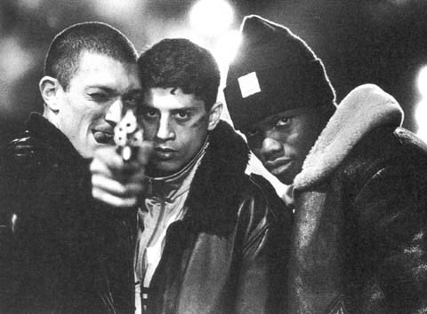 "anglocide:  La Haine (1995)Heard about the guy who fell off a skyscraper? On his way down past each floor, he kept saying to reassure himself: ""So far so good... ""so far so good..."" How you fall doesn't matter. It's how you land!"