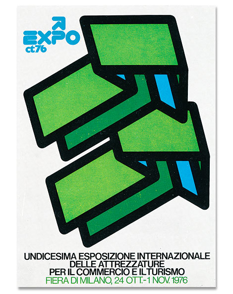 Mimmo Castellano poster, via Grain Edit.