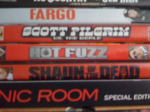 Completed my Edgar Wright collection (Shaun Of The Dead, Hot Fuzz, Scott Pilgrim vs. The world) just missing spaced but that's tv