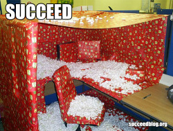 Cubicle wrap succeed