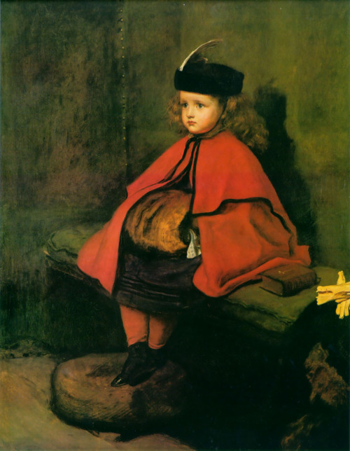 aldoushuxley:  John Everett Millais, My First Sermon, 1862-1863.