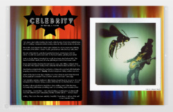 "Featured on Burner Mag My shots from ""Giant Bugs vs. Star System"" set featured on Burner Magazine. Check it Out!  http://www.burnermag.com/index.html"