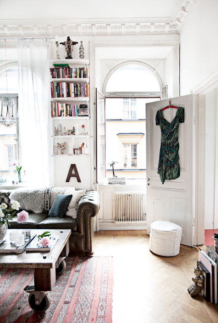 musesofdesign:  French By Design: Ethnic Chic in Stockholm