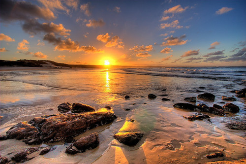 Sunset, Frasier Island - Australia