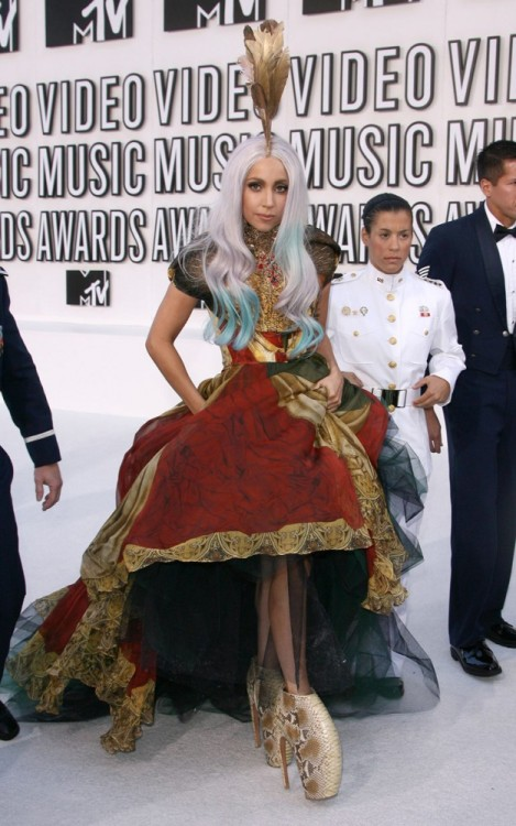 Lady Gaga's Alexander McQueen Gown