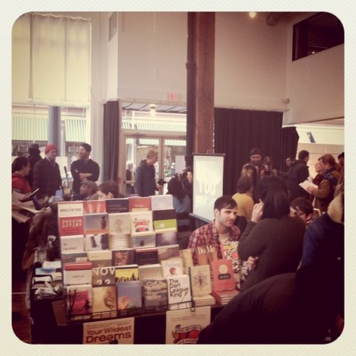 From the Second Annual Publication Fair we hosted with Publication Studio at Ace Hotel Portland earlier this month.  Photo by Kate Bing Burt