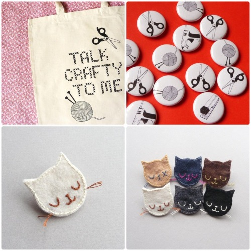 Oh nothing, just some Caturday gift ideas.  bookspaperscissors:  I love this shop, pannikin, especially these cat brooches :)
