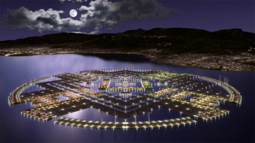 Harvest City: Floating Islands to Rebuild Haiti | Inhabitat