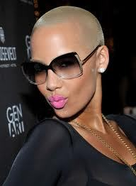 AMBOR ROSE HAS A GREAT STYLE EYE. SHE ROCKES HER SHORT CUT IN VARIOUS WAYS THAT COMPLEMENT HER HEAD SHAPE AND BODY!! NICCEE VERY BEAUTIFUL, WHEN YOU KNOW HOW TO WORK YOUR ASSESTS.