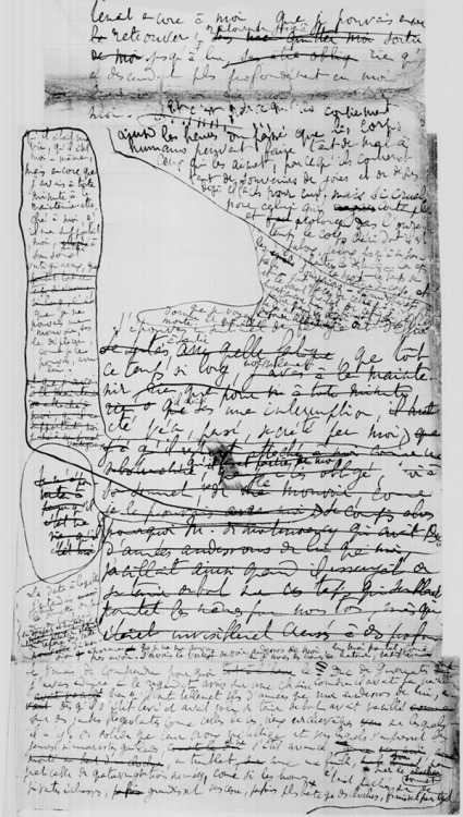 Le temps retrouvé: Proust's manuscript pages(click through for more images)