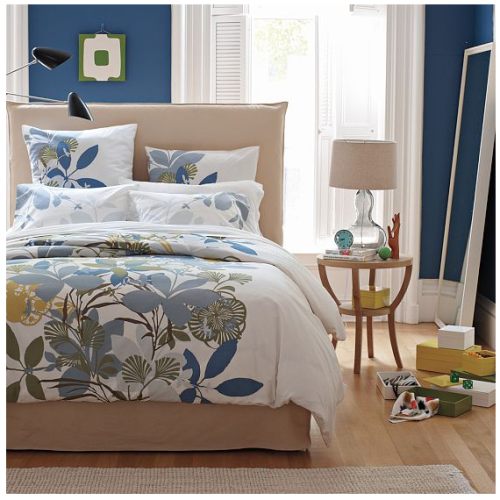 West Elm duvet cover