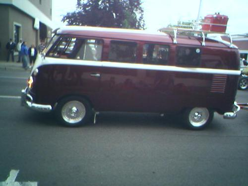 My dream van.  I see this at all the car shows.  I tell Gordon (husband) that I want mine tie-dyed which of course you can't do to a car but I think you could air brush it to look that way.