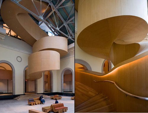 """ Frank Gehry ended up re-envisioning the Art Gallery of Ontario """