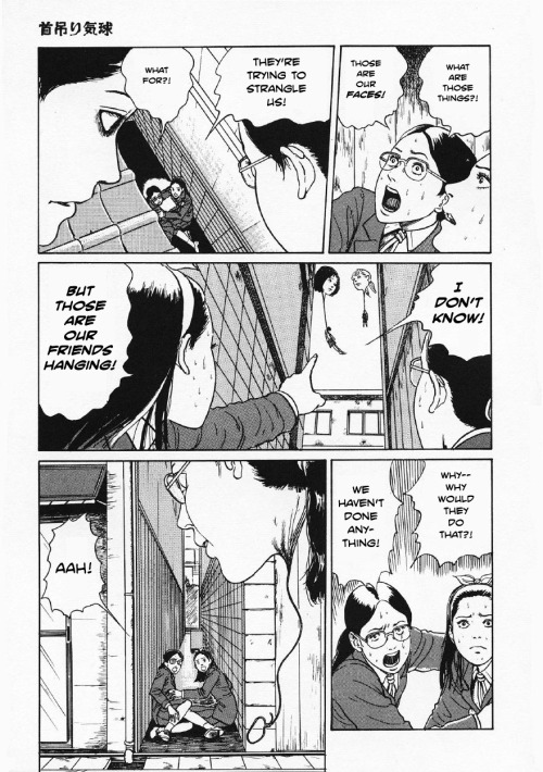 Hanging Balloons by Junji Ito - pg 40 //scanlation by Michael & Dave