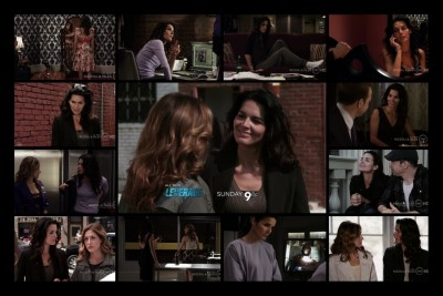 "Rizzoli & Isles 1.03 ""Sympathy for the Devil"" Jane Rizzoli ""fashion"""