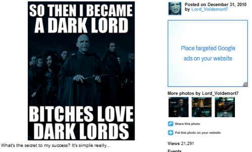 AGAIN WITH THE SILENTLY JUDGING ME TWITTER VOLDEMORT, YOURE KILLING ME IS TWITTER VOLDEMORT LIKE… ON MY TUMBLR OR WHAT IF HE'S READING THIS POST RIGHT NOW ON HIS BIRTHDAY DOUBLE VOLDEMORT ALL THE WAY ACROSS THE SKY OH MY GOD ITS SO INTENSE