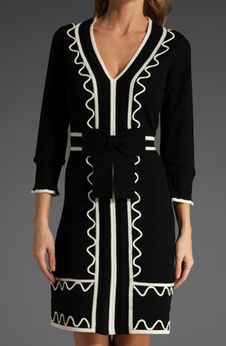 Milly Valentina Sweater Dress. It might be even more precious (if you can believe it) in winter white.