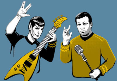 Rock like Spock and have a Happy New Year!