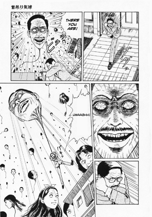 samehat:  Hanging Balloons by Junji Ito - pg 50 //scanlation by Michael & Dave